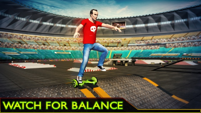Hoverboard Stunts Hero 2016 Screenshot