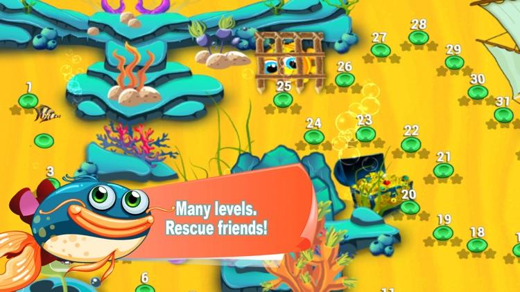 Hungry Fish Eat HD screenshot-3
