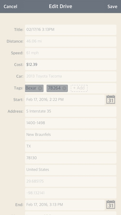 AutoDrive — Drive Tracking screenshot-3