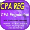 CPA Regulation: 1600 Study Notes & Quizzes (CPA Exam)