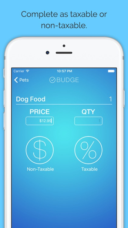 Budge - Budget Your Shopping Lists