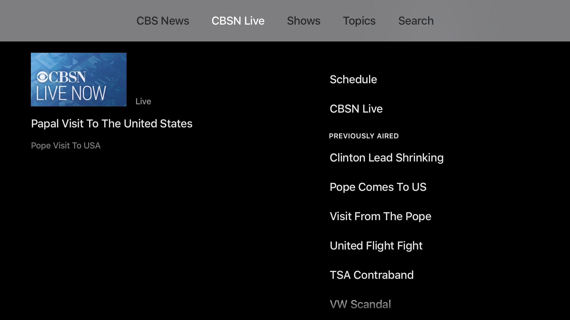CBS News: Live Breaking News screenshot 16