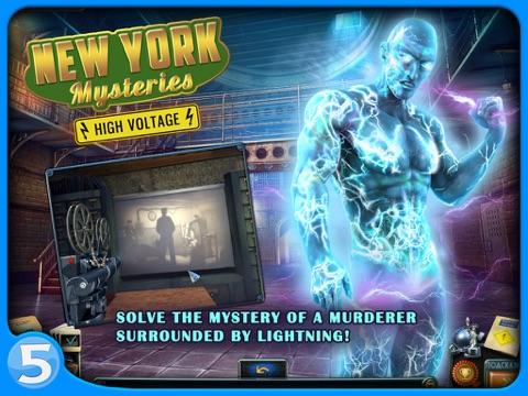 New York Mysteries 2: High Voltage HD - náhled