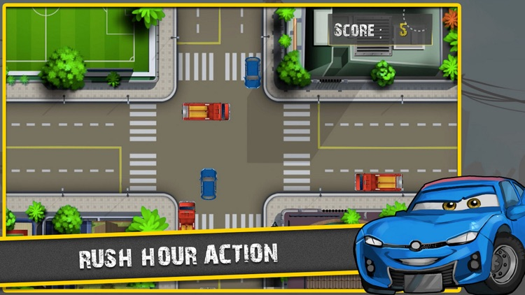 Traffic Panic in Jakarta