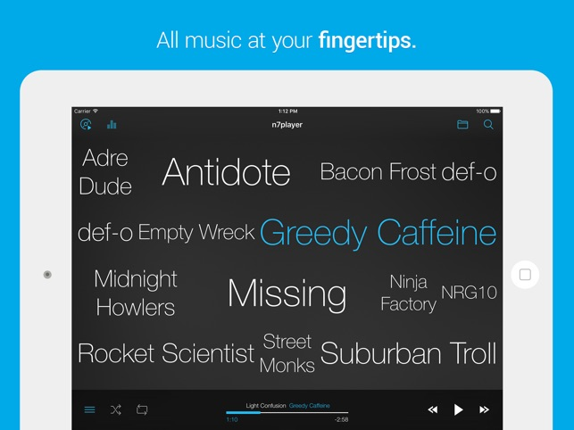 n7player Music Player on the App Store