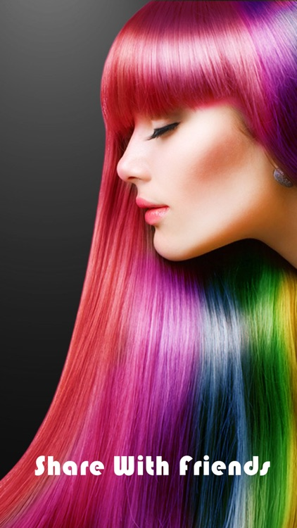Hair Color Booth Pro - Change Hair Styles to Blonde, Brunette, Brown, Ginger or Any Color screenshot-4