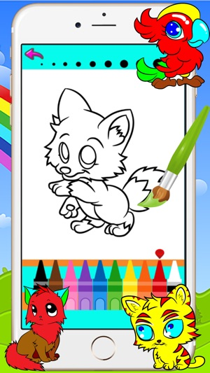 Animal Coloring Books - Drawing Painting Games For Kids on the App Store