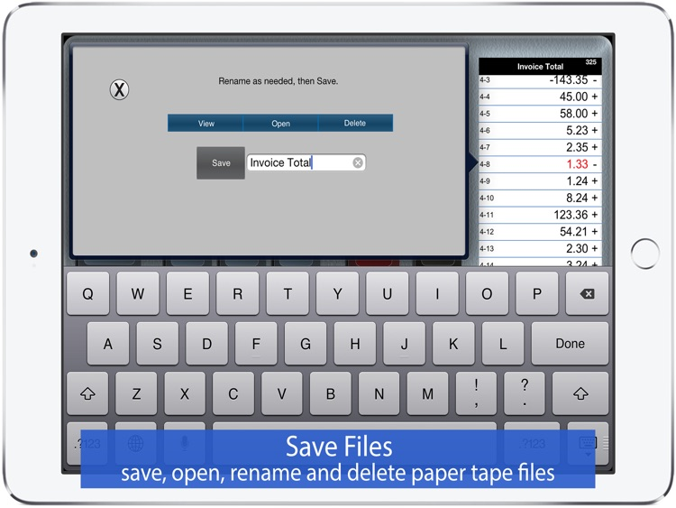 Adding Machine 10Key for iPad screenshot-4