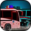 Free 3D Car Racing Games - Cop Bus Demolition artwork