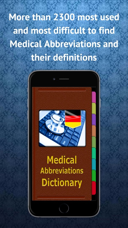 Medical Abbreviations German