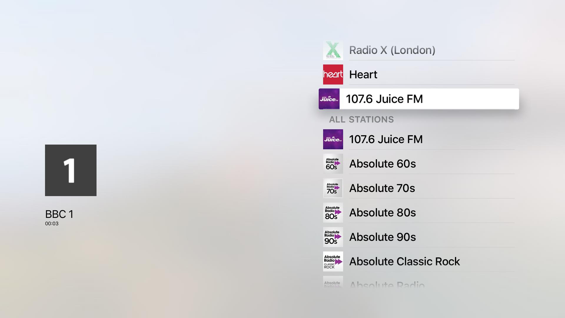 UK Radio screenshot 2