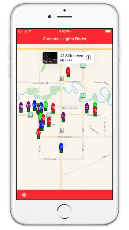 Christmas Lights Finder - Brandon Manitoba