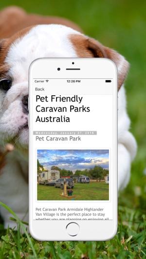 Pet Friendly Caravan Parks Australia