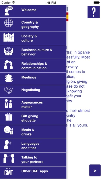Business culture & etiquette Spain screenshot-0