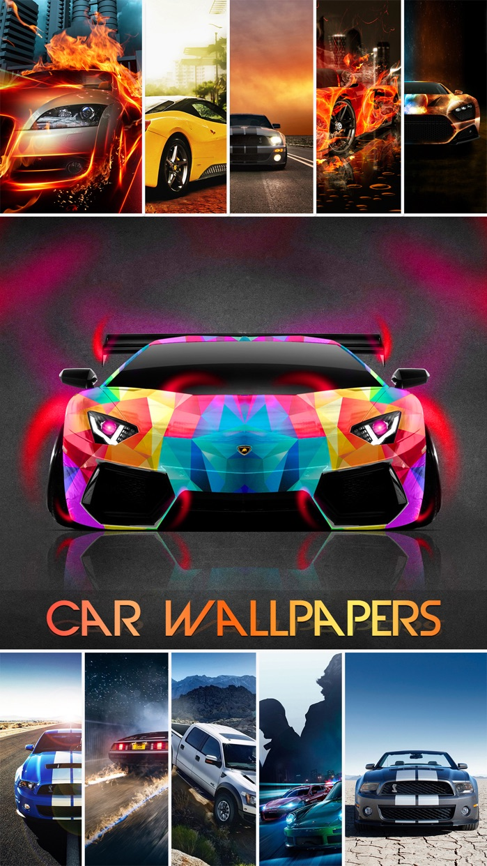 Car Wallpapers & Backgrounds HD - Customize Home Screen with Cool Retina Pictures Screenshot