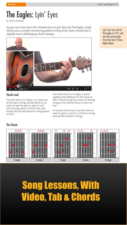 Guitar Coach Magazine. Learn & Play Guitar screenshot-1