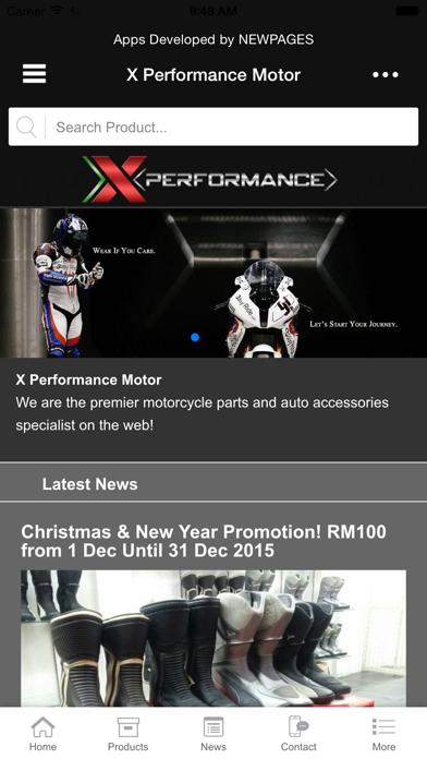 X Performance Motor screenshot one