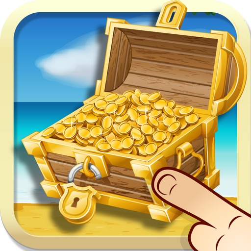 A puzzle game for kids & toddlers: Treasure Island