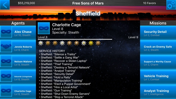 Operation Ares - A Revolution on Mars! Recruit Spies, Complete Missions, & Gain Independence