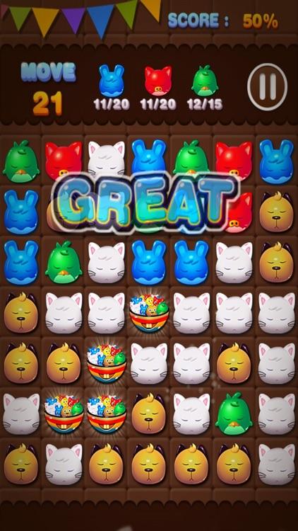 Pet Puzzle Match 3 Game