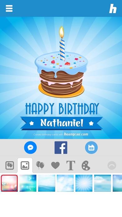 Happy Birthday Card Maker Apprecs
