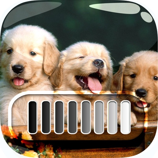 FrameLock – My Cutie Puppy : Screen Photo Maker Overlays Wallpapers For Pro