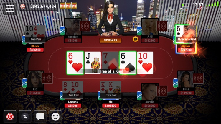 Boqu Texas Hold'em Poker - Free Live Vegas Casino screenshot-3
