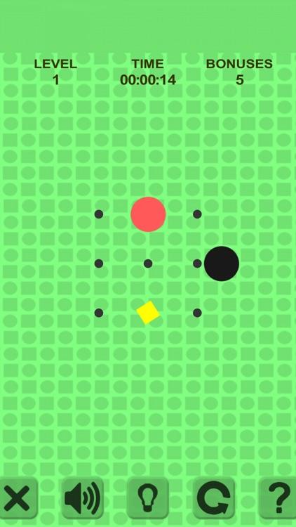 Simple Swipe. Red Ball