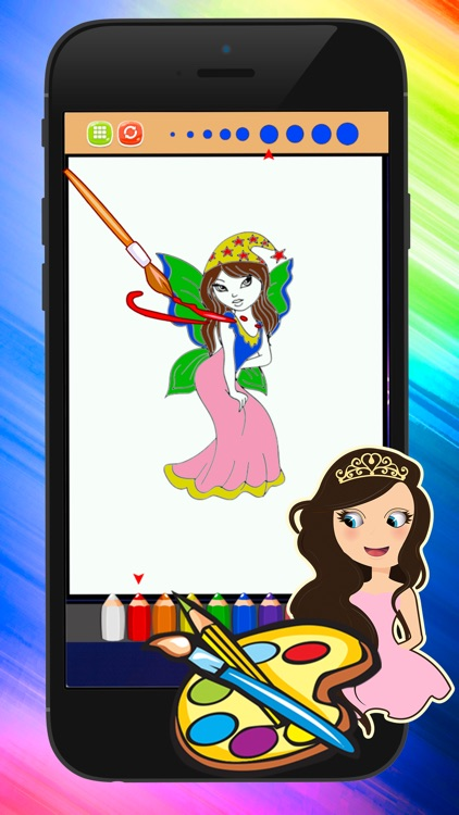 Princess Coloring Pages Coloring Set In Pictures screenshot-4