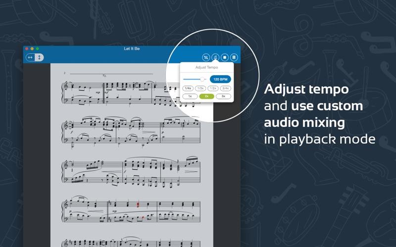 Musicnotes Sheet Music Player Screenshot