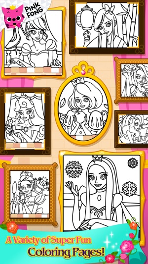 The Princess Coloring Book On App Store