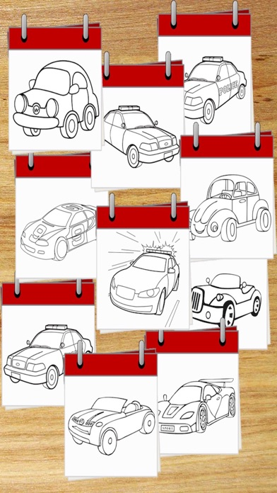 Cars Drawing Pad For Kids And Toddlers screenshot three