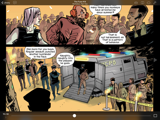 Chunky Comic Reader screenshot