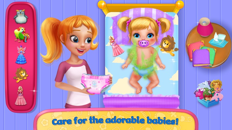 Babysitter Madness - Help the Nanny