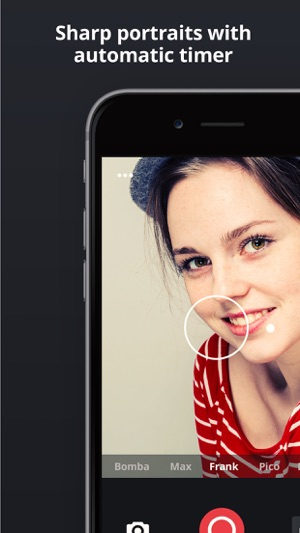Camu - Camera for simply perfect pictures Screenshot