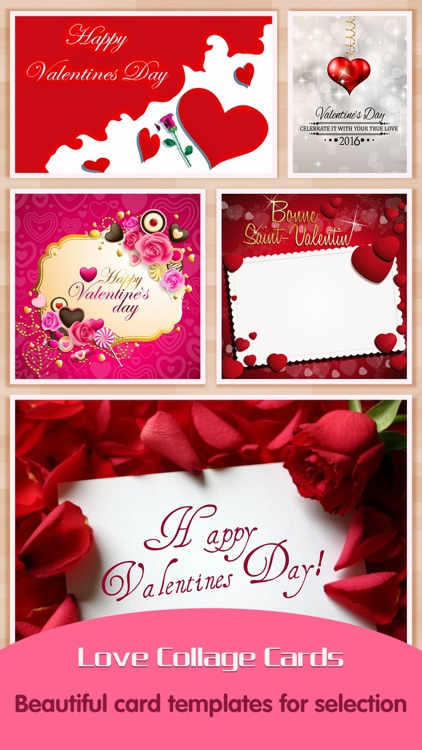 Love Greeting Cards Maker Pro - Picture Frames for Valentine's Day & Kawaii Photo Editor