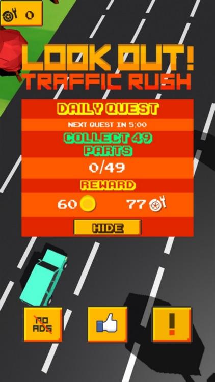 Look Out! - Traffic Rush screenshot-0
