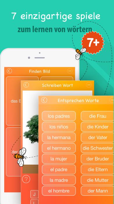 6000 Wörter - Spanische Sprache Lernen - KostenlosScreenshot von 4