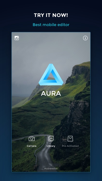 AURA - Camera Photo Editor: Filters, Frames & Text For Instagram. screenshot-3
