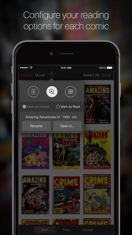 iComics - The Comic Reader for iPad and iPhone screenshot-3