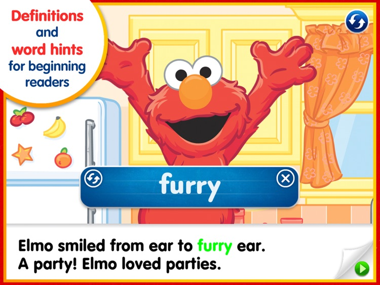 Elmo's Big Birthday Bash! – A Sesame Street Step Into Reading App screenshot-1