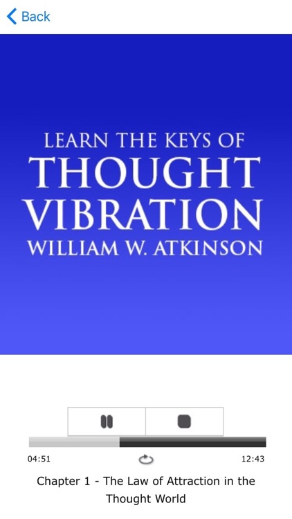The Law Of Attraction Meditations by Esther Hicks & Thought Vibration by William W. Atkinson screenshot-3