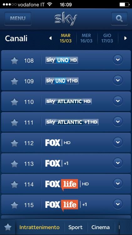 Sky Guida TV screenshot-3