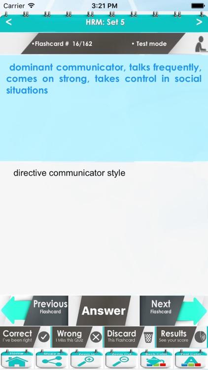 Human Resource Management: 3500 Flashcards screenshot-4