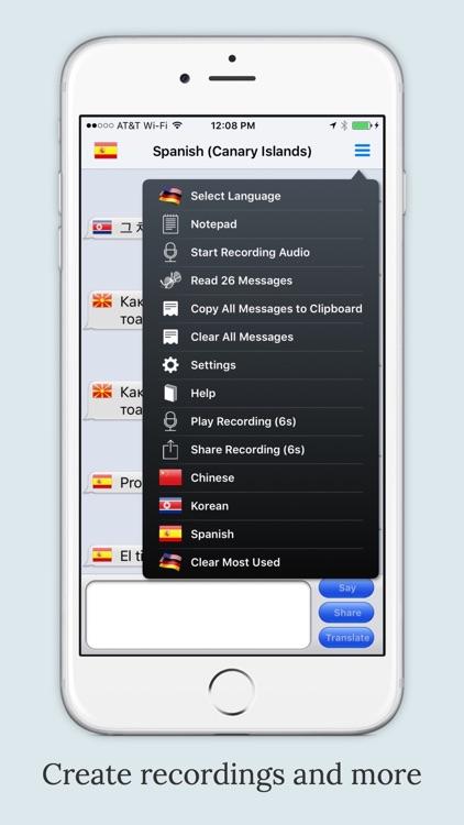 mText2Speech - Language Translator with Voice screenshot-3