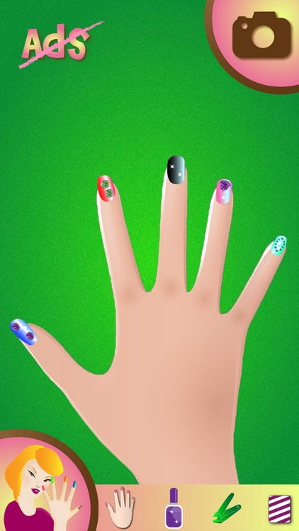 Nail Art Makeover Studio – Fancy Manicure Salon and Beauty Spa Game for Girls screenshot-4