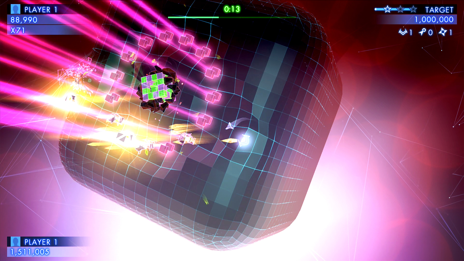Geometry Wars 3: Dimensions Evolved screenshot 13