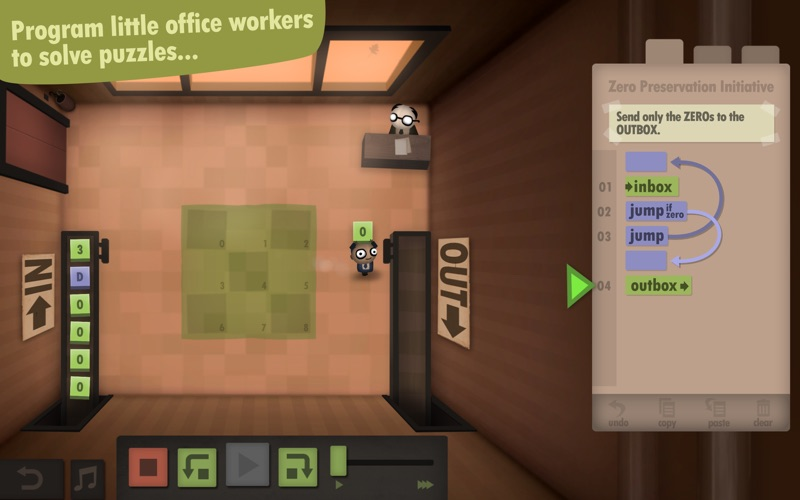Human Resource Machine Screenshots
