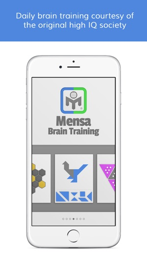 Mensa Brain Training on the App Store