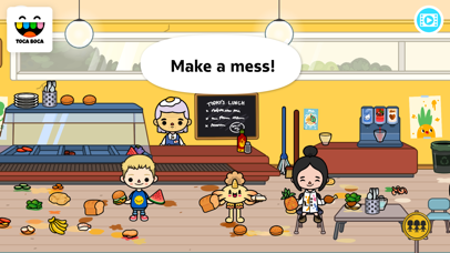 Screenshot for Toca Life: School in Greece App Store